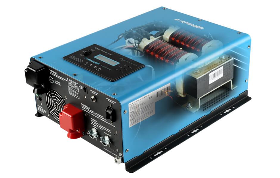 ETL listed inverter charger internal view