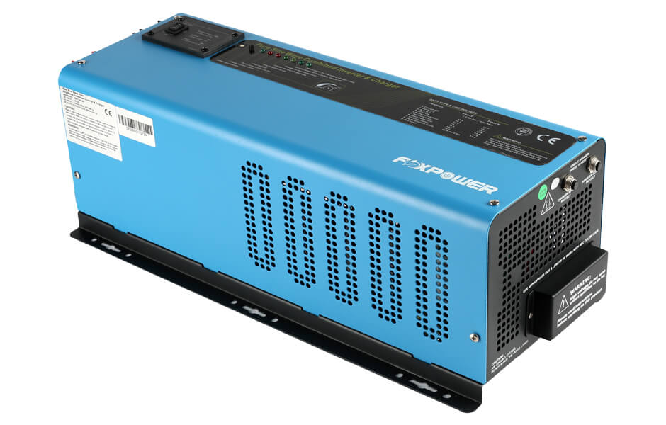 Prime low frequency pure sine wave inverter charger 6000W