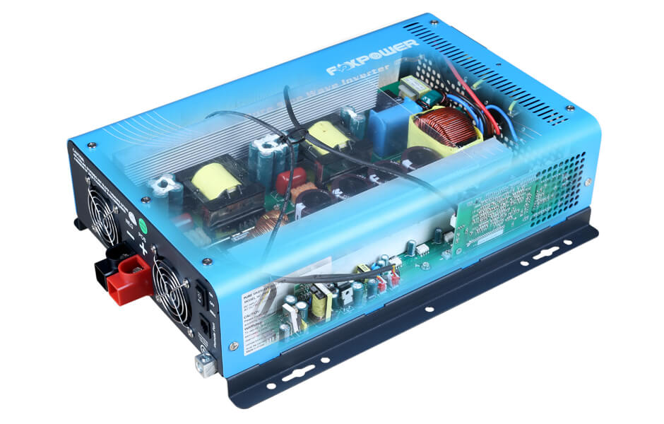 Sunsine pure sine wave power inverter internal view