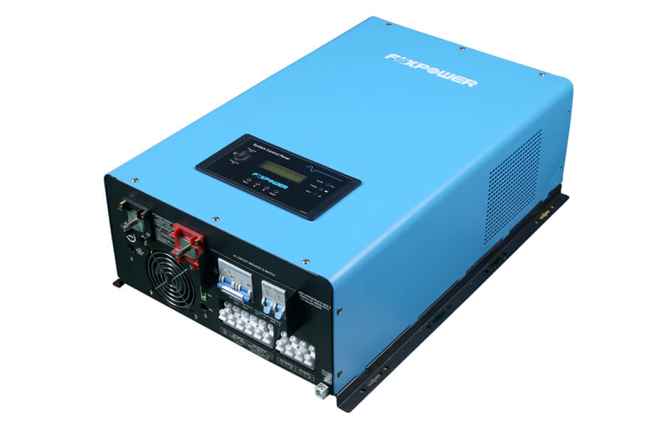 10000W 48Vdc Split phase pure sine wave inverter charger