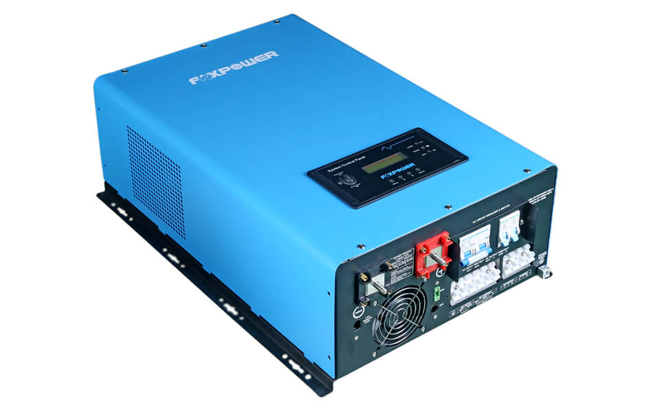 12000W 48Vdc Split phase pure sine wave inverter charger