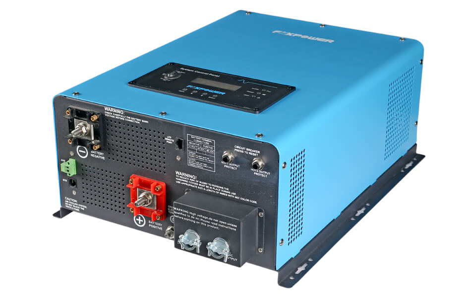 5kW split phase pure sine wave inverter charger